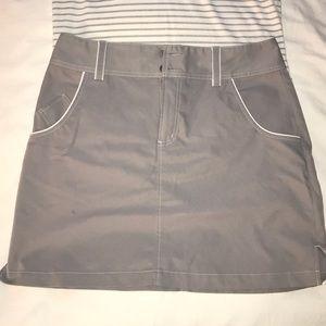 Grey Adidas Golf Skirt
